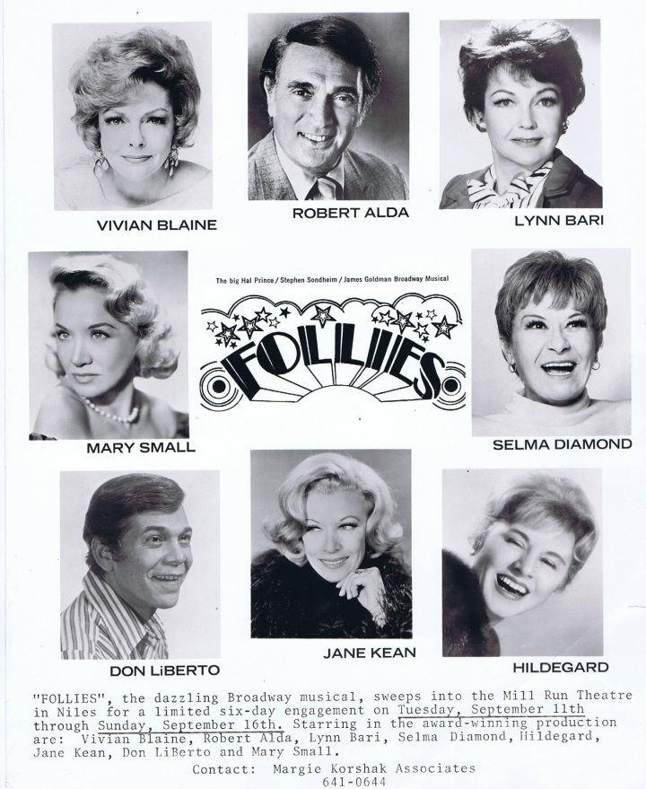 I'm Obsessed With This FOLLIES Poster On eBay