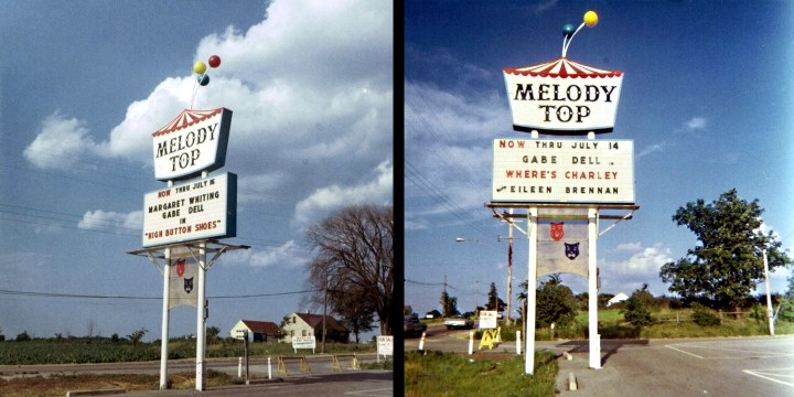 Color Melody Top Sign